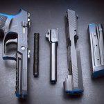 Sig p320 pistol disassembled