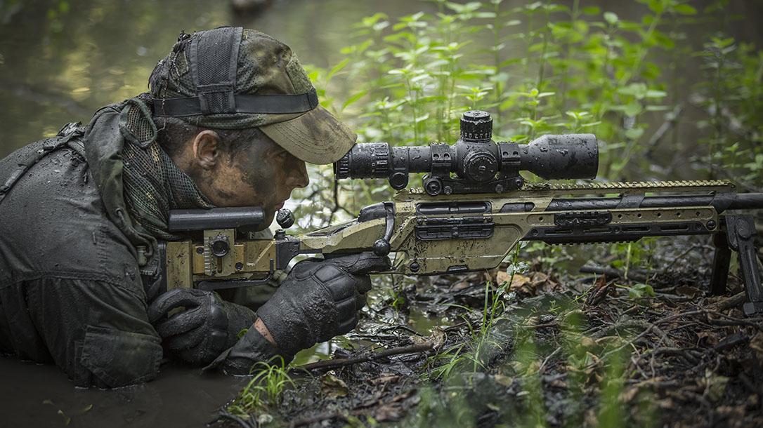 Steyr SSG 08 A1 rifle