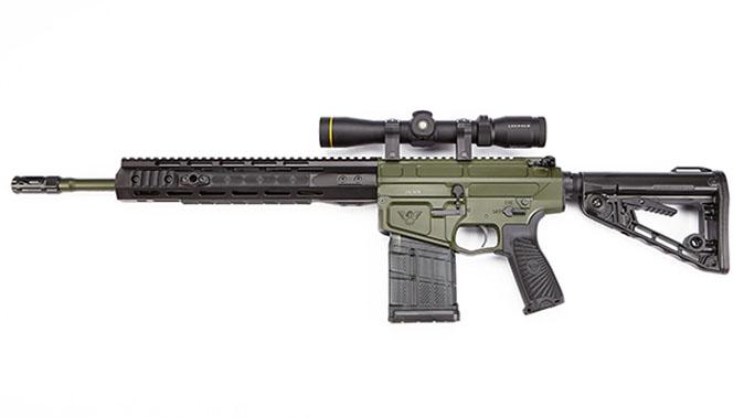 Wilson Combat Ranger rifle left profile