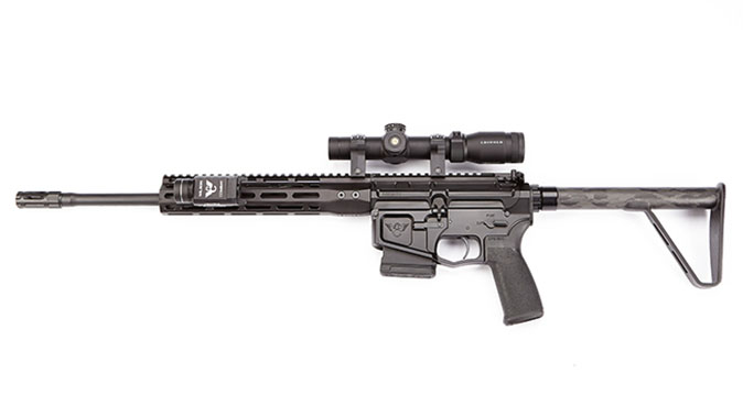 wilson combat ranger ultralight rifle left profile