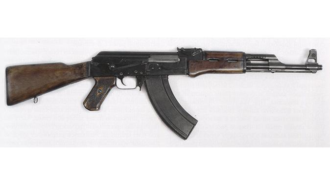 ak rifle 1949 checkered grip