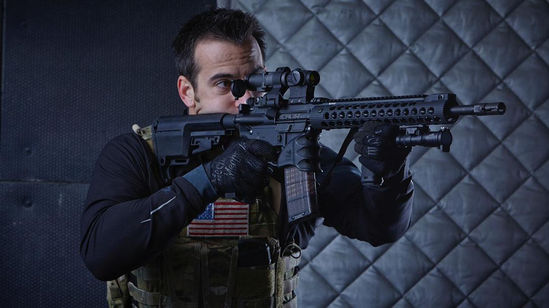 Dom Raso AR-15 American flag
