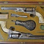 colonel custer colt model 1861 revolver set