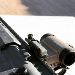Aimpoint micro t-2 FDE sight rifle