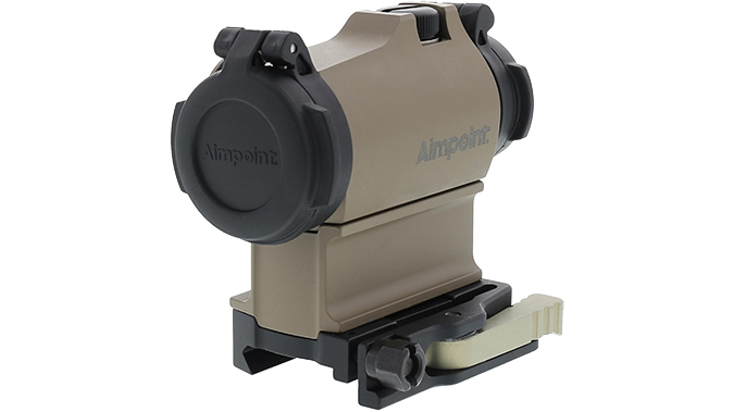 Aimpoint micro t-2 FDE sight left angle