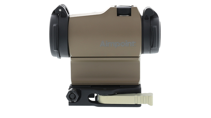 Aimpoint micro t-2 FDE sight right profile