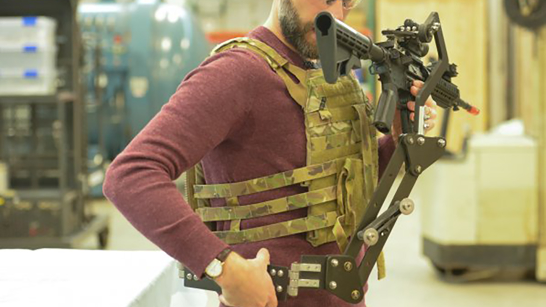 army third arm mechanical device