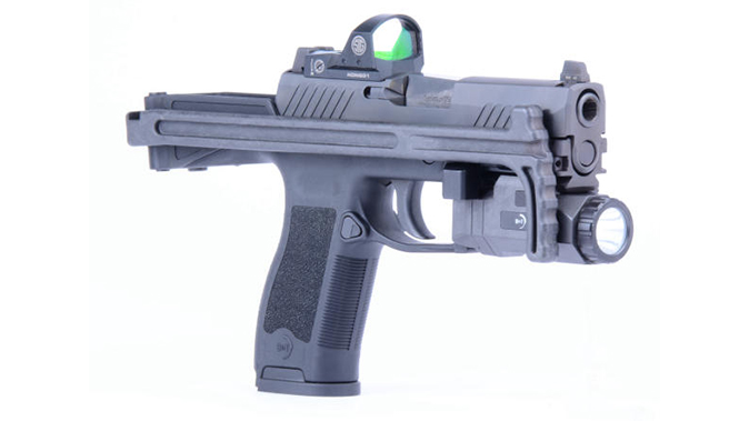 B&T USW-320 chassis stock folded angle