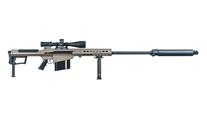 Barrett M107A1 rifle portuguese special operations