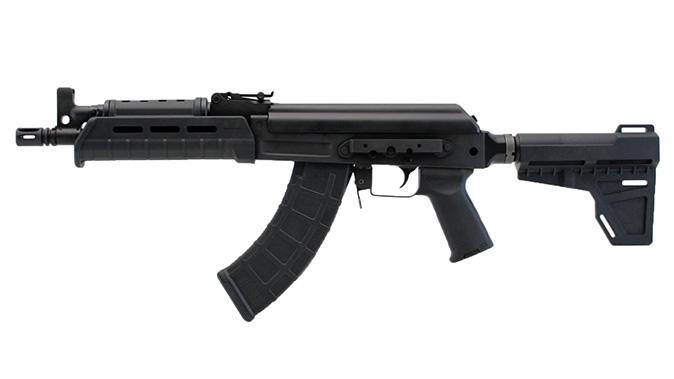 Century Arms C39v2 Blade AK Pistol left profile