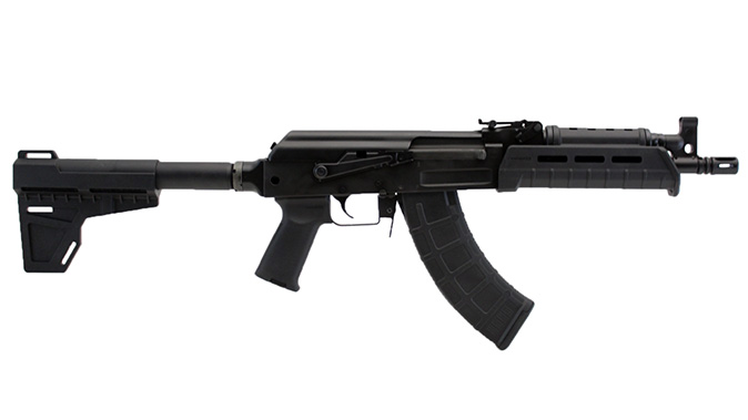Century Arms C39v2 Blade AK Pistol extended right profile