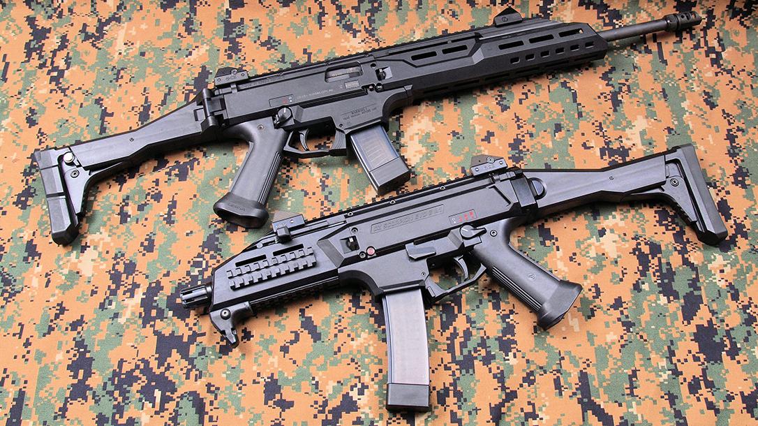 cz scorpion evo 3 a1 and s1 rifles