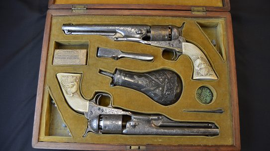 colonel custer Colt Model 1861 revolvers