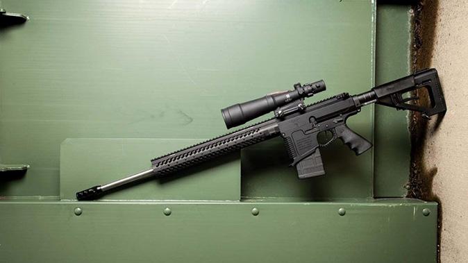 DoubleStar STAR10-BX rifle left profile