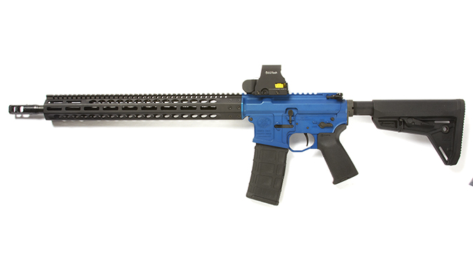 FN 15 Competition rifle left profile