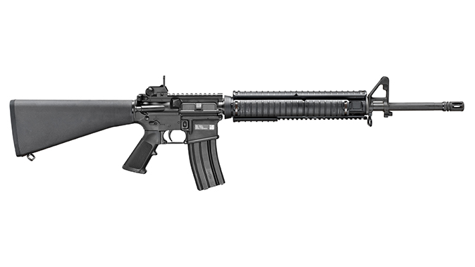 fn military collector m16 rifle right profile