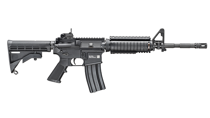 fn military collector m4 rifle right profile