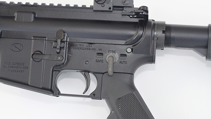 fn military collector m16 m4 rifles selector markings