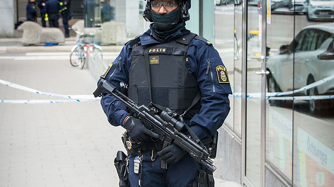 sweden police duty ammo