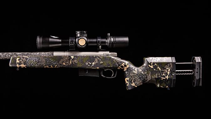 gunwerks copilot rifle stock extended