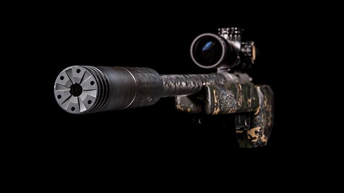 gunwerks copilot rifle silencer angle
