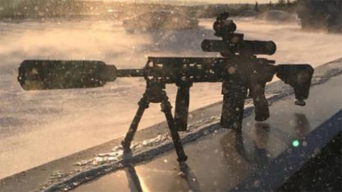 Haenel Defence CR 308 angle beauty shot