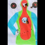royal tiger imports io EM-12B shotgun target