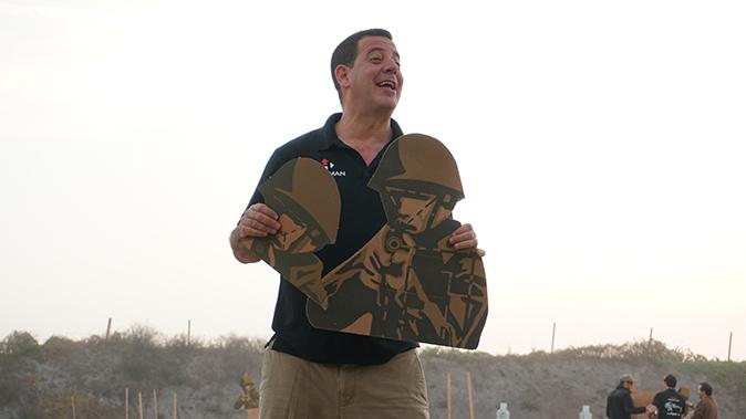 Israeli Defense Forces idf shooting target