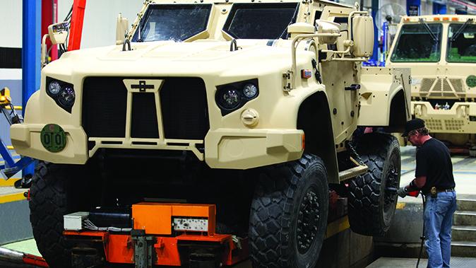 Oshkosh JLTV l-atv vehicle