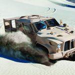 Oshkosh JLTV desert