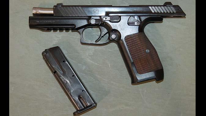 kalashnikov pl-14 handgun barrel magazine