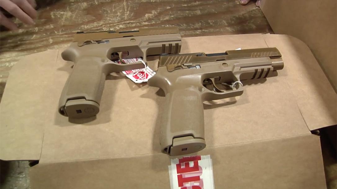 modular handgun system pistols comparison