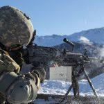 army Next Generation Squad Automatic Rifle m249 firing