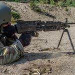army Next Generation Squad Automatic Rifle m249 saw right profile