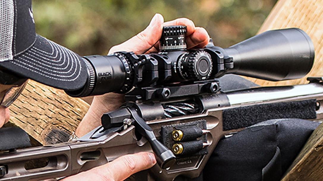 nikon black FX1000 scope closeup