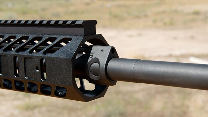 noreen firearms BN308 rifle review gas block