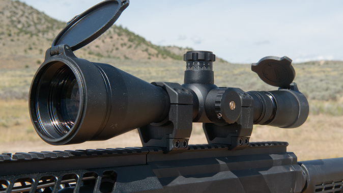noreen firearms BN308 rifle review scope