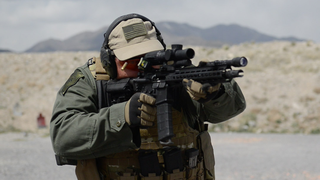 Primary Weapons Systems MK112 rifle action shooting