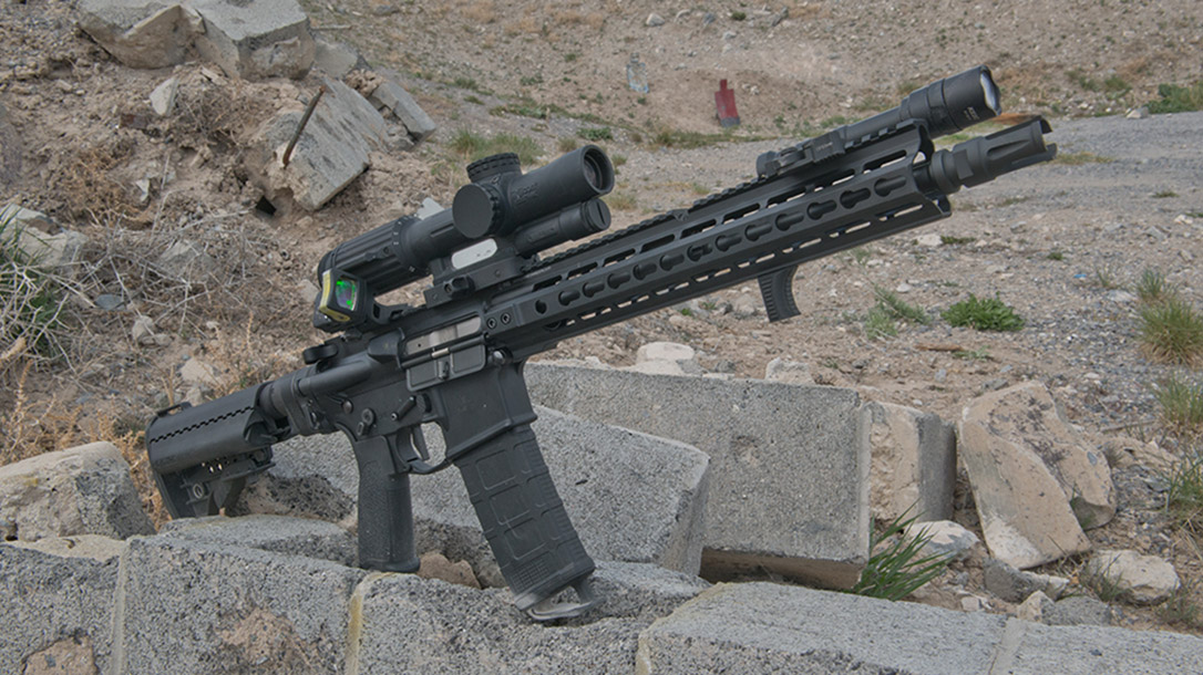 Primary Weapons Systems MK112 rifle right profile