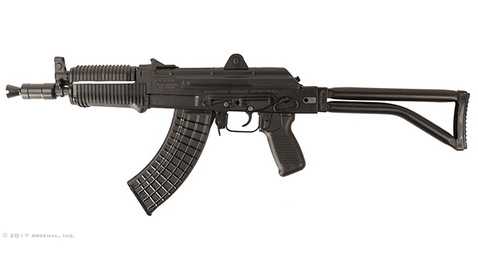 Arsenal SAM7SFK SBR rifle left profile