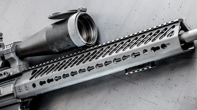 Seekins Precision SP10 6.5 Creedmoor rifle handguard