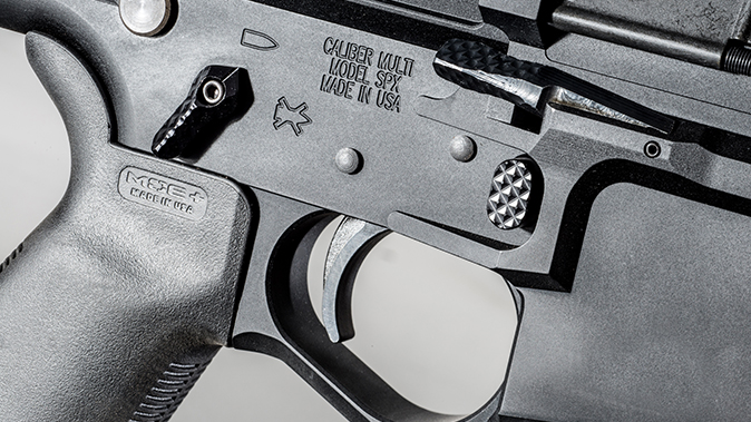 Seekins Precision SP10 6.5 Creedmoor rifle receiver