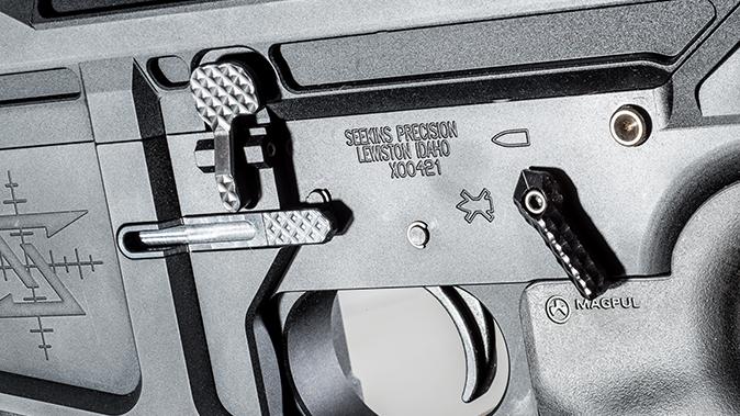 Seekins Precision SP10 6.5 Creedmoor rifle receiver left side