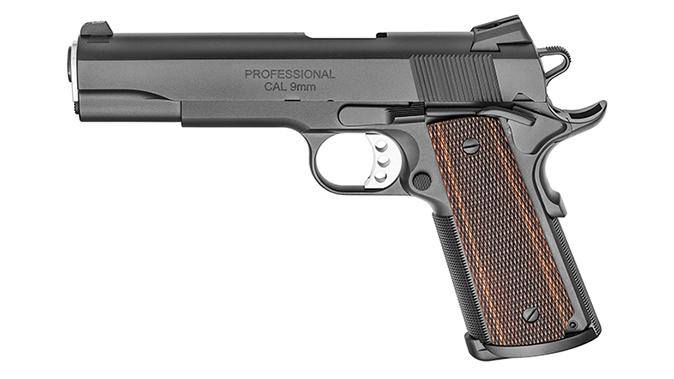 Springfield Professional 1911 9mm pistol left profile