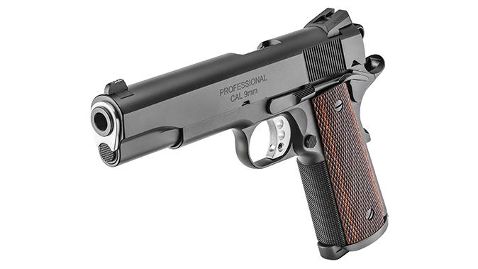 Springfield Professional 1911 9mm pistol left angle