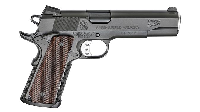 Springfield Professional 1911 9mm pistol right profile