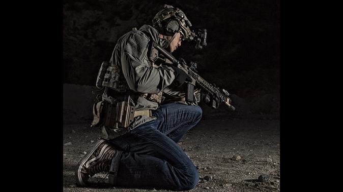 tactical shooting night shooting