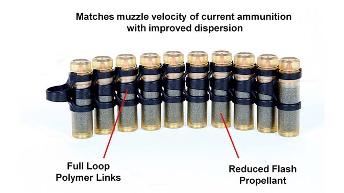 textron systems lightweight small arms technology CT ammo