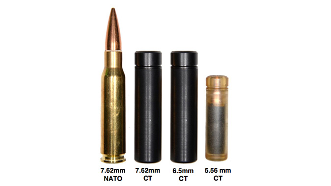 textron systems lightweight small arms technology CT rounds