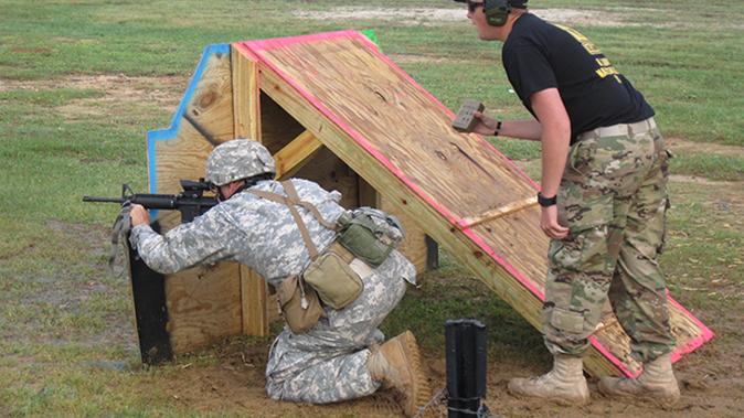 american soldiers usamu multi-gun course